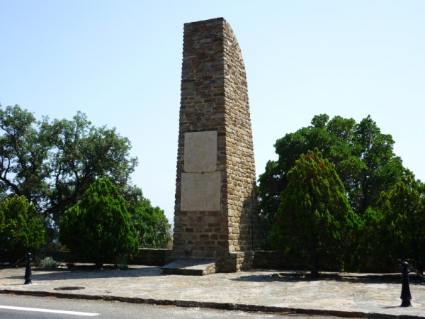 THE STELE OF THE COMMANDO TROOPS OF AFRICA
