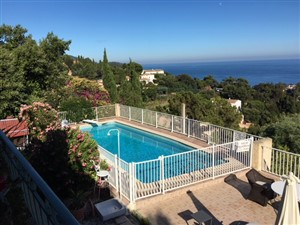 Le rayol Canadel : Bed and breakfast VILLA LOUISETTE