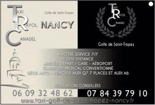 Le rayol Canadel : Taxis TAXI NANCY