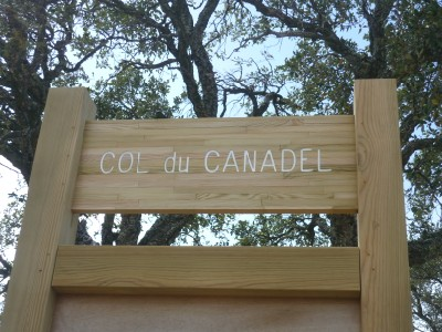 ORIENTATION TABLE AT COL DU CANADEL